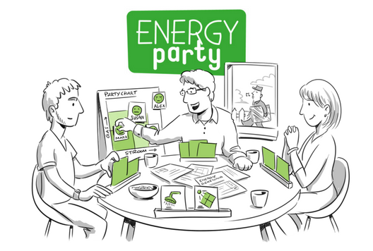 EnergyParty locatie Den Haag Ede Leidschendam-Voorburg
